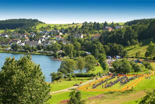 VULKAN-Cross-Triathlon am Schalkenmehrener Maar Veranstaltungsort